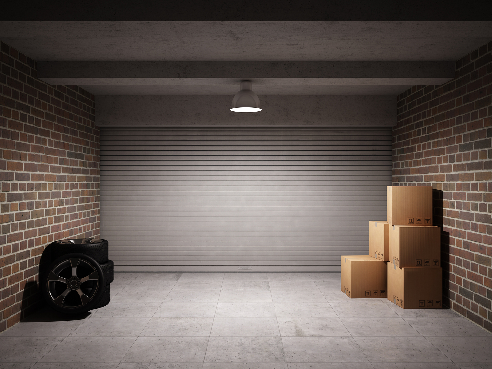 Landowner Garage In A Box : Custom empty garage