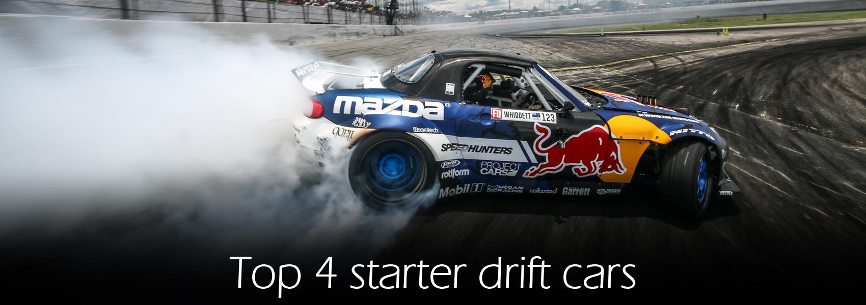 Top 4 Starter Drift Cars