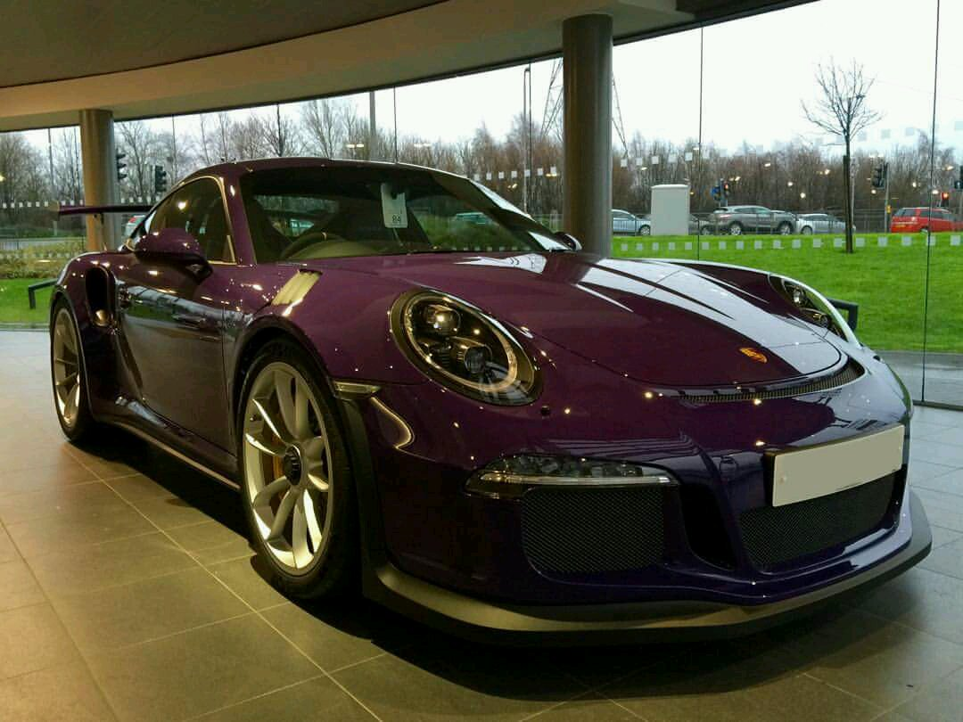 Ultra Violet 911 Gt3 Rs At Porsche Glasgow By Far My