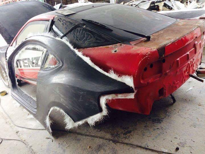 Apparently There Is A Gt86 Bodykit For The 240sx
