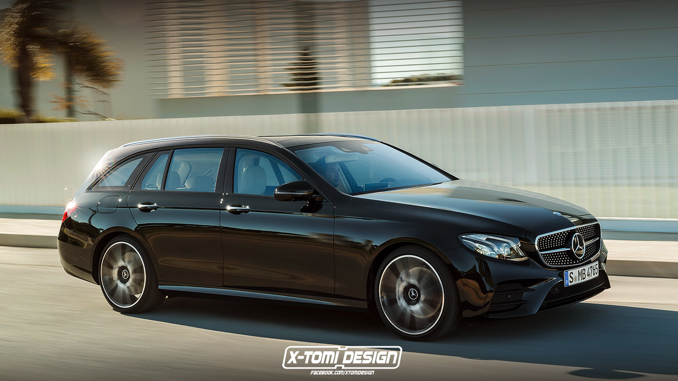 Mercedes benz e43 amg estate for Mercedes benz estate cars
