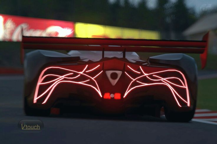Mazda Furai At Night For Kids