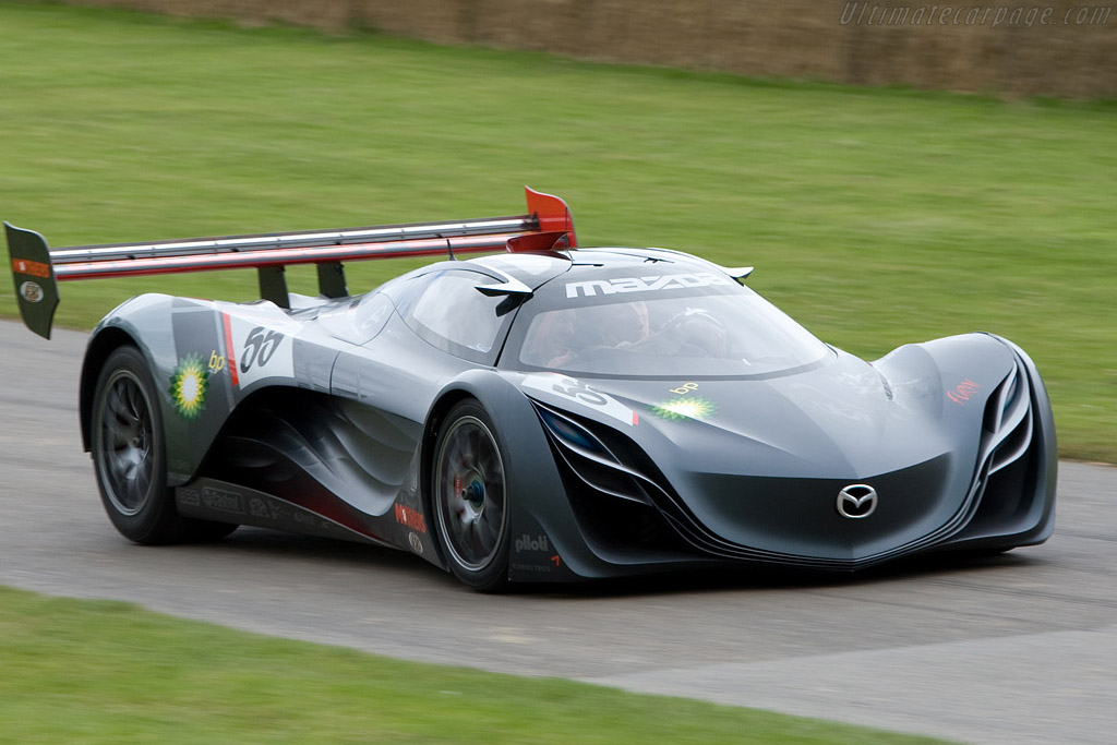 mazda furai a futuristic race car that was built in. Black Bedroom Furniture Sets. Home Design Ideas