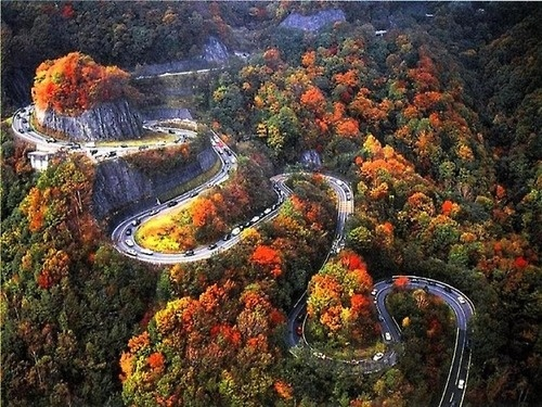 Nissan Of Chattanooga >> My #DreamRoadTrip : Tail of the Dragon in a TR6