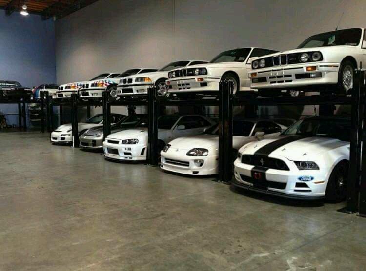 Garage Of Paul Walker