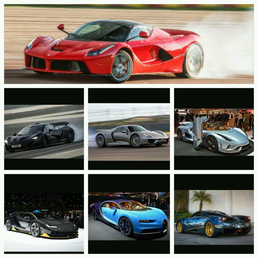Ferrari Vs Koenigsegg Vs Pagani Vs Mclaren Vs Porsche Vs
