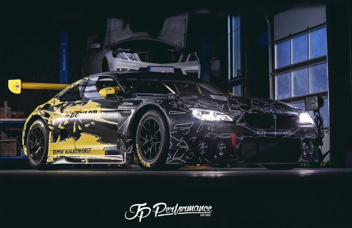 Bmw M6 Gt3 Dunlop Art Car Design By Jp Performance