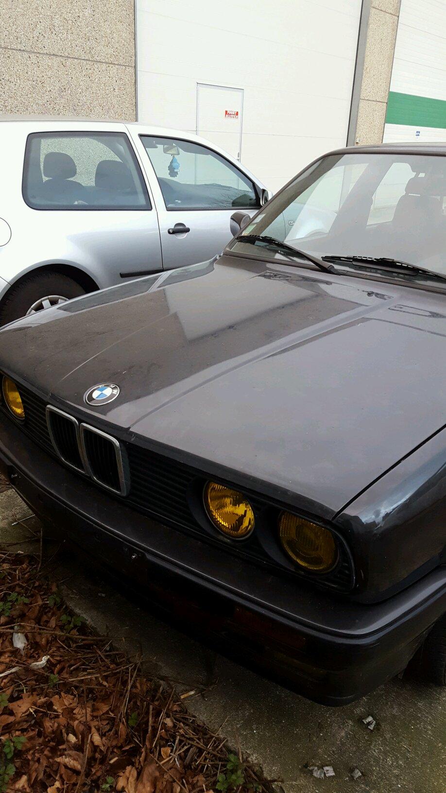 bmw 324 1990 гараж