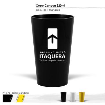 Copo Cancun 320ml Standard 140