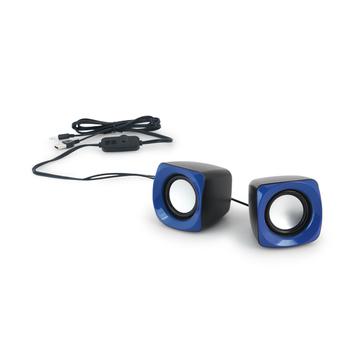 Caixa de som ligação USB e controle de volume 97339