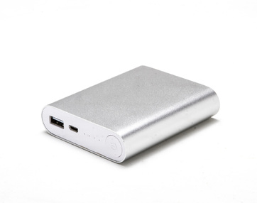 Power Bank de metal  c/ 4 baterias internas 6000mAh E35