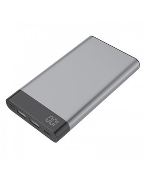 Power Bank Metal com Visor Digital 6000mAh E37