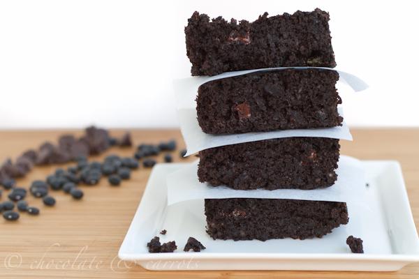 Black Bean Brownies {Gluten-free} | chocolate & carrots