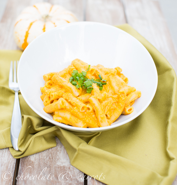 Pumpkin Pasta | chocolateandcarrots.com