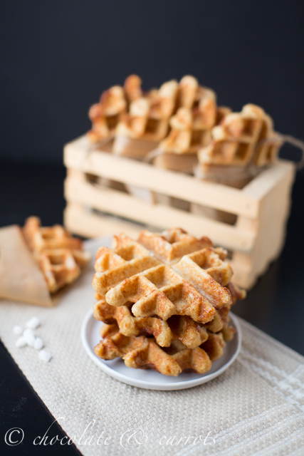 Whole Grain Liege Waffles-9916