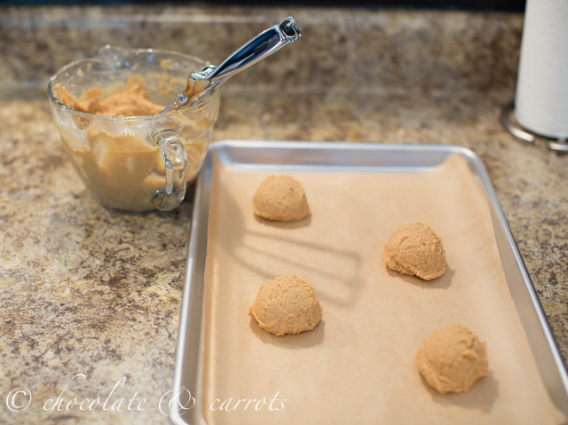 Chocolate Dipped Peanut Butter Cookies-1769