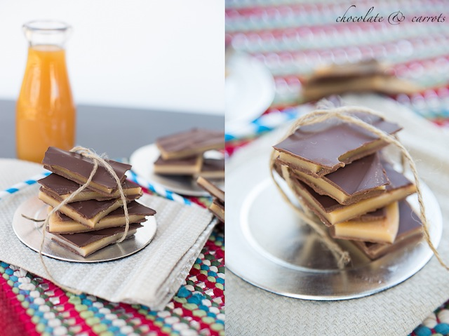 Chocolate Covered Apple Cider Toffee