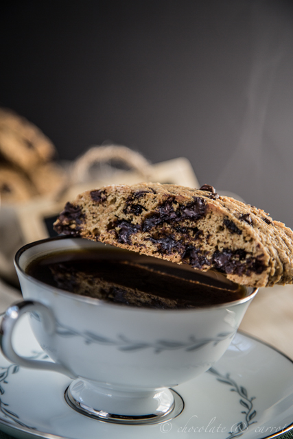 Whole Wheat Chocolate Chip Biscotti-6