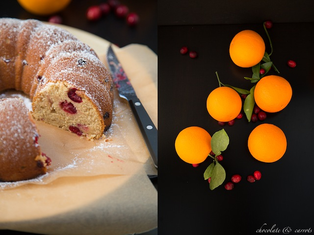 Whole Wheat Cranberry Orange Cake 1