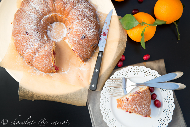 Whole Wheat Cranberry Orange Cake-1
