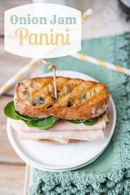 Onion Jam Sandwich
