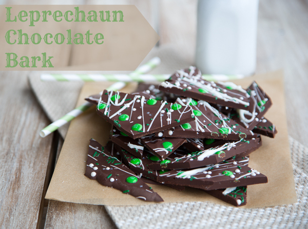 Leprechaun Chocolate Bark
