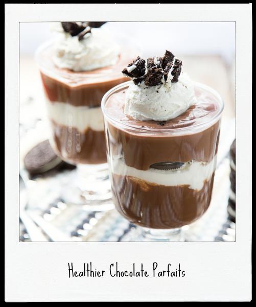 Healthier Chocolate Parfaits
