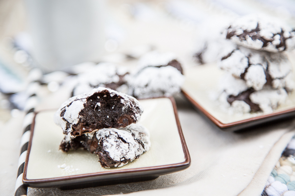 Flourless Double Chocolate Chip Cookies 2