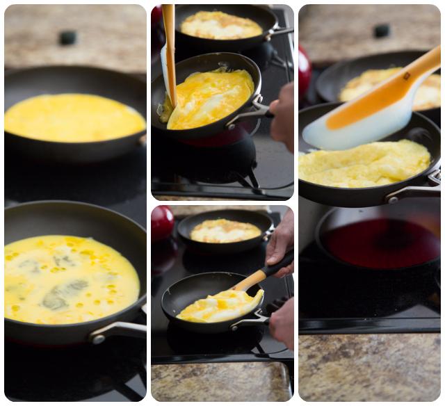 OXO Omelette Flipping