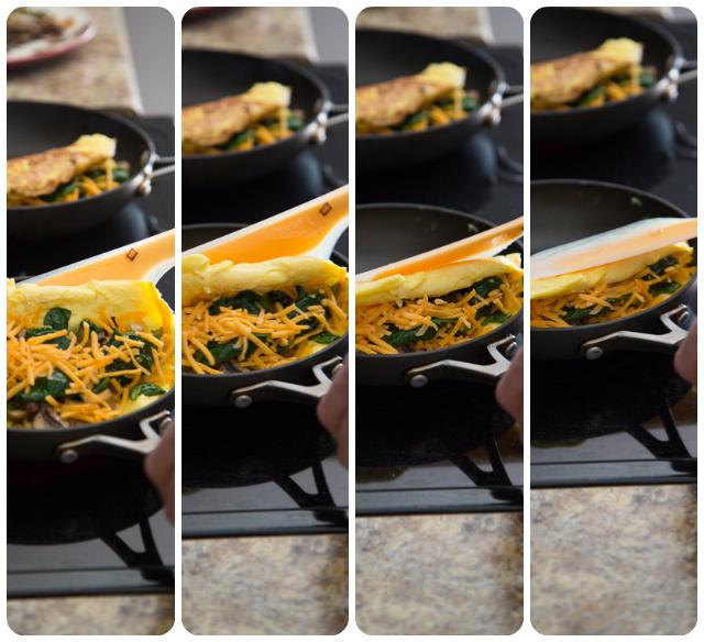 OXO Omelette Folding