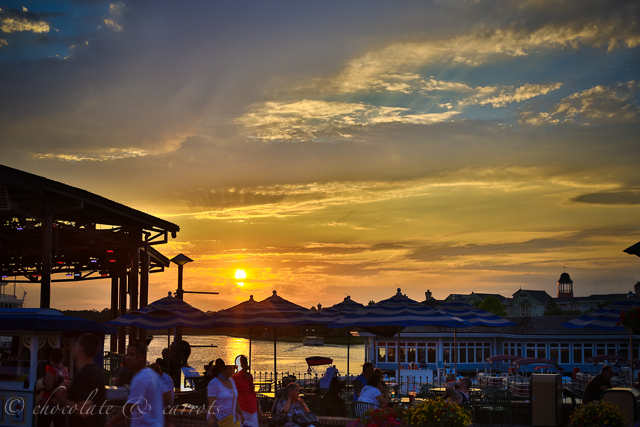 Downtown Disney Sunset