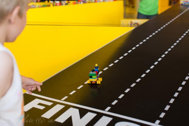 Lego Store Racing