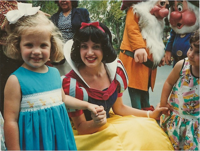 Caroline and Snow White-1