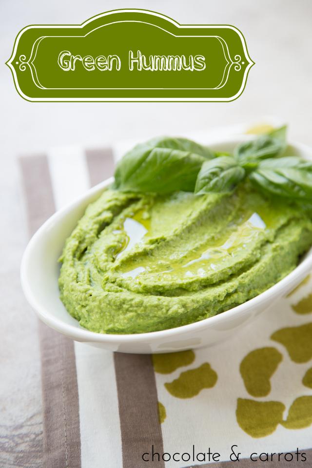 Green Hummus   chocolateandcarrots.com