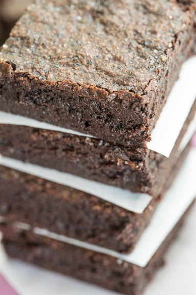 Salted Fudge Brownies-0130