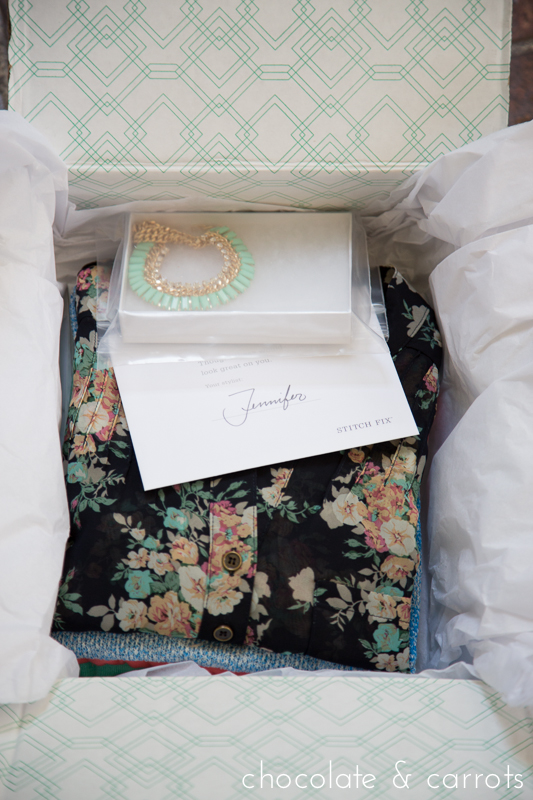 Stitch Fix Review | chocolateandcarrots.com