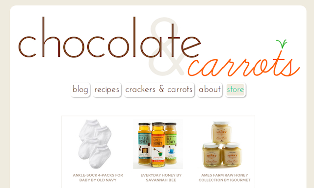 Chocolate & Carrots Store