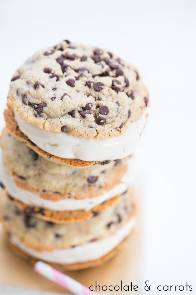 Vegan Ice Cream Sandwiches | chocolateandcarrots.com-1589