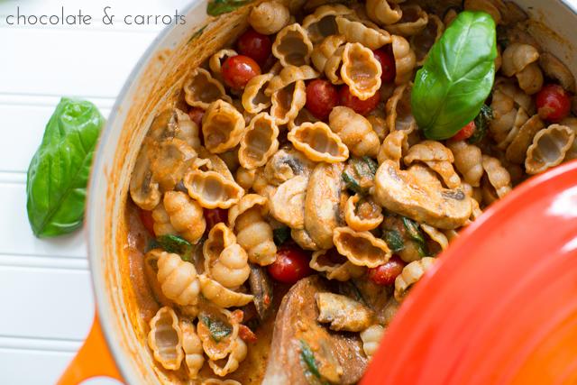 Quick & Creamy Italian Pasta | chocolateandcarrots.com