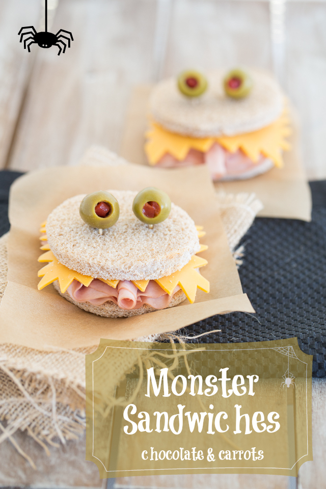Monster Sandwiches | chocolateandcarrots.com