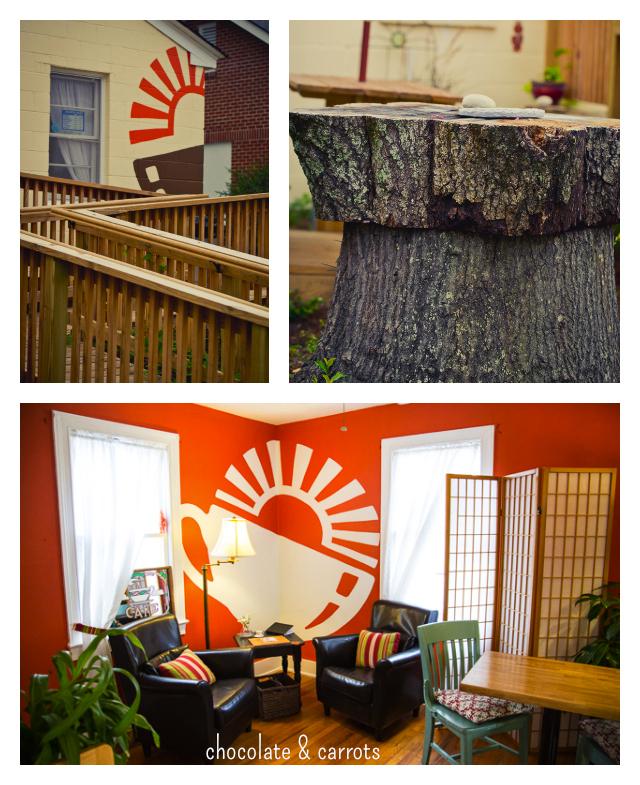 The Orange Spot Coffeehouse Lounge | chocolateandcarrots.com