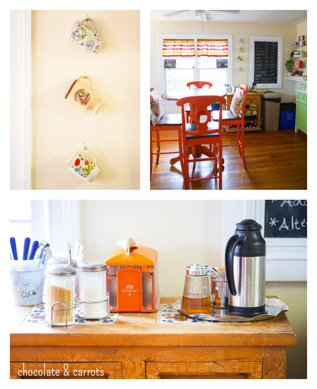 The Orange Spot Coffeehouse Order Station | chocolateandcarrots.com
