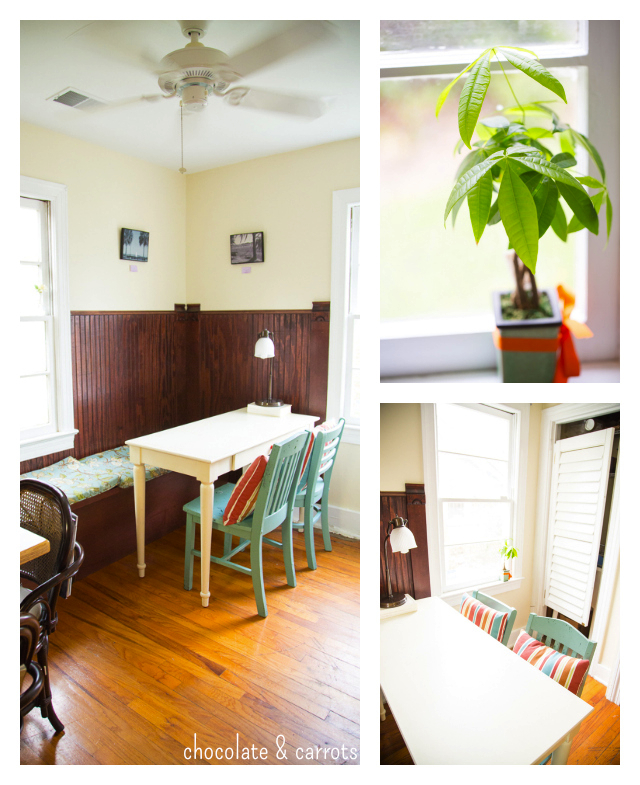 The Orange Spot Coffeehouse Back Room | chocolateandcarrots.com