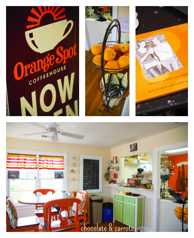 The Orange Spot Coffeehouse Front Room | chocolateandcarrots.com