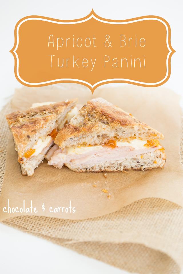Apricot & Brie Turkey Panini | chocolateandcarrots.com - 3