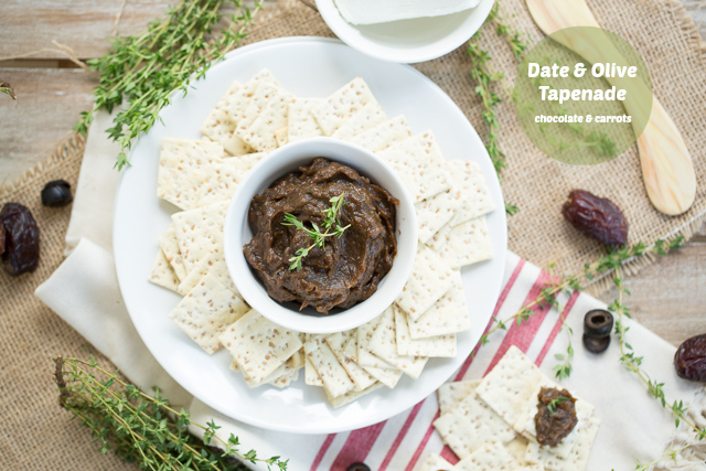 Date & Olive Tapenade | chocolateandcarrots.com