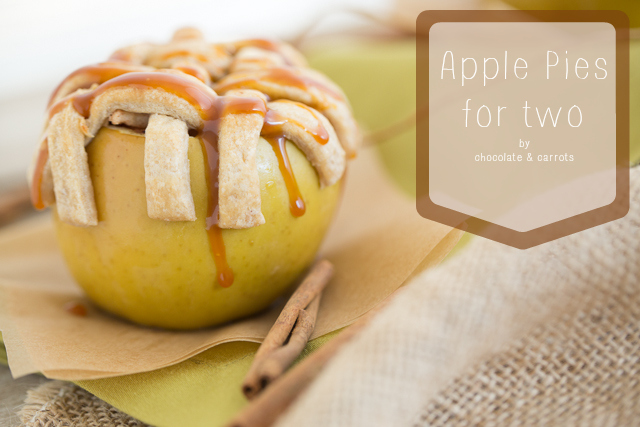 Apple Pies for Two | chocolateandcarrots.com