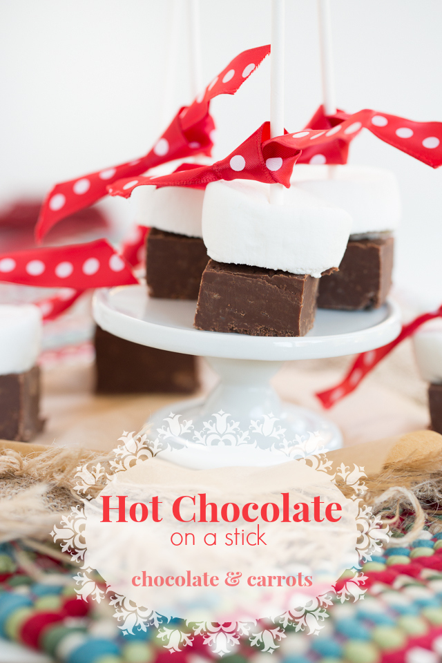 Hot Chocolate on a Stick | chocolateandcarrots.com