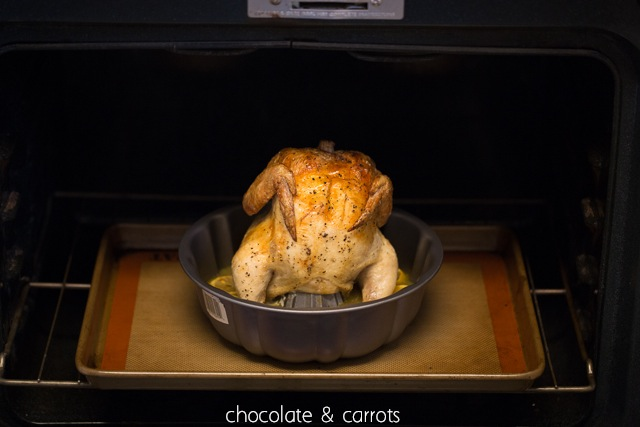 Bundt Pan Roasted Chicken | chocolateandcarrots.com