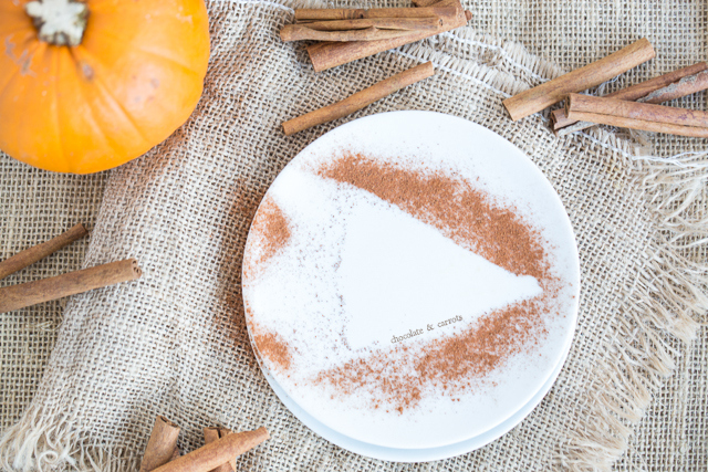 Whole Wheat Butterscotch Pumpkin Pie | chocolateandcarrots.com